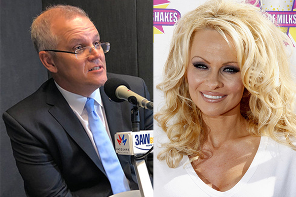 Pamela Anderson slams Prime Minister over 'smutty' comments