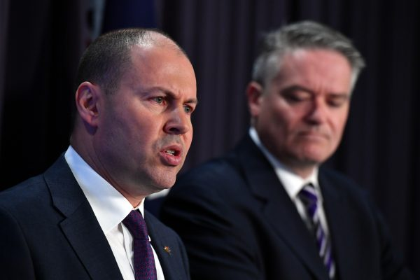 Treasurer refuses to rule out further tax cuts, government eyes first surplus in a decade