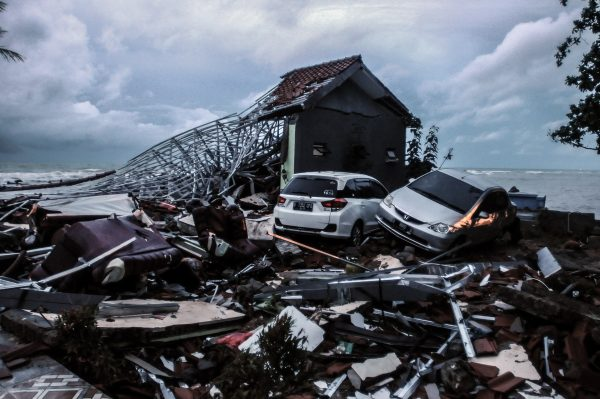At least 280 dead after tsunami hits Indonesia without warning