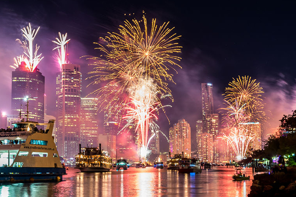 Article image for Fireworks to light up Brisbane's skies for New Year's Eve celebrations