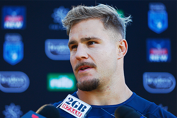 NRL player Jack De Belin charged over alleged sexual assault