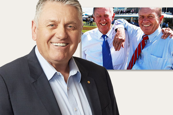 Article image for Gerry Harvey phones in to interrupt Ray Hadley and Singo
