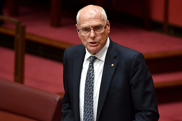Will he be saved? Senator Jim Molan to meet with Prime Minister in 'immediate future'