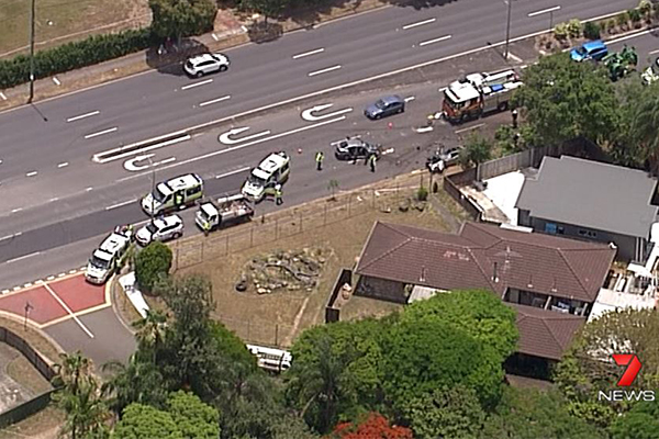 Article image for Three children injured in crash at Sunnybank