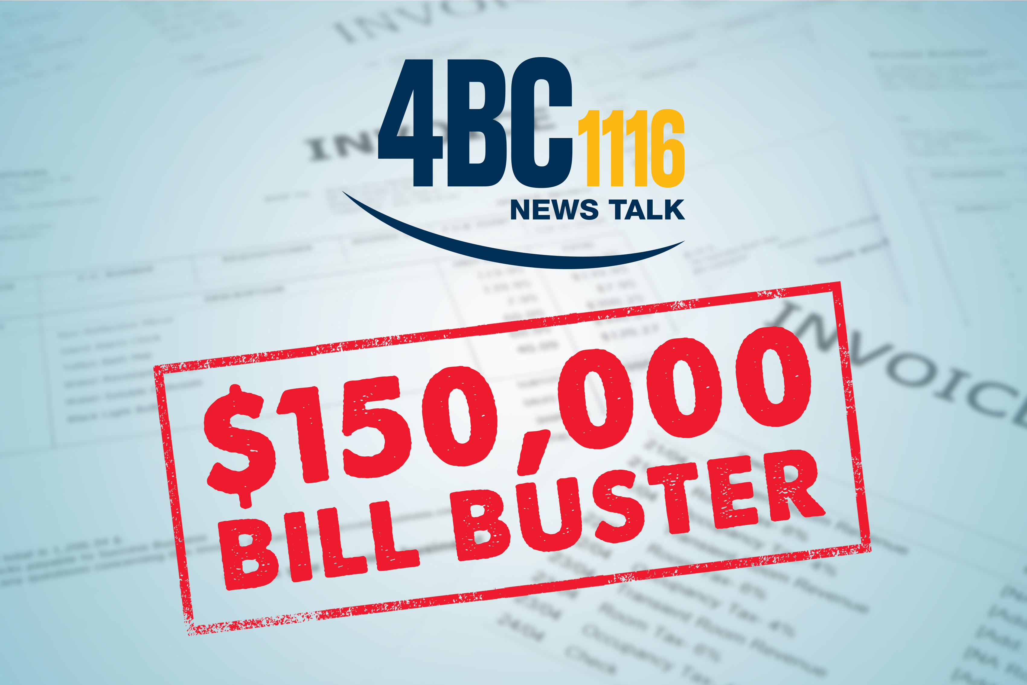$150,000 Bill Buster on 4BC