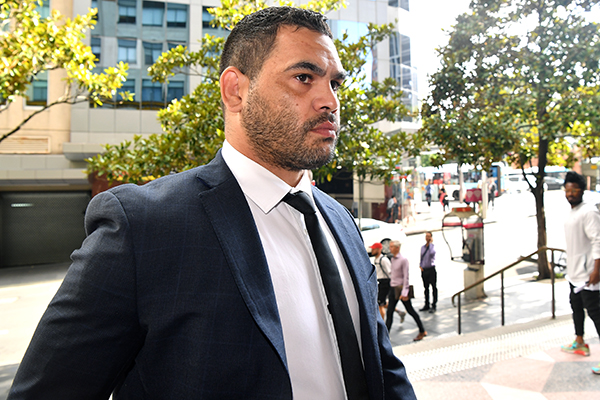 Greg Inglis escapes conviction for mid-range drink driving