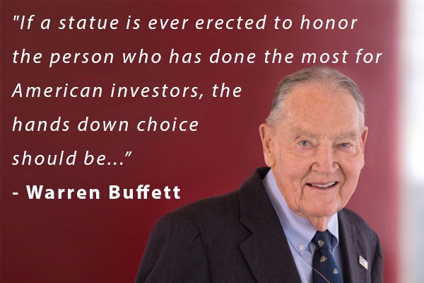 Article image for World's second richest man pays tribute to most influential investor in history