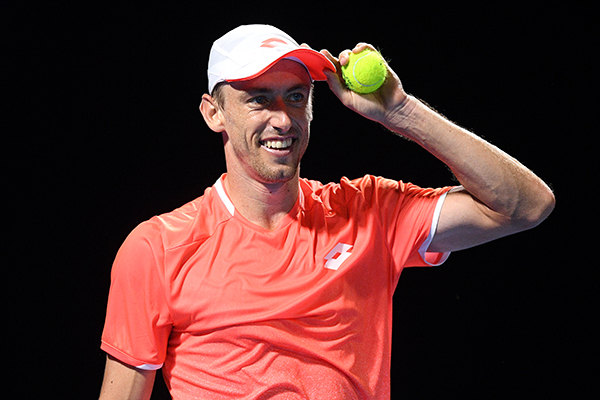 Article image for Nice guys can finish first: Aussie tennis star John Millman's astonishing rise
