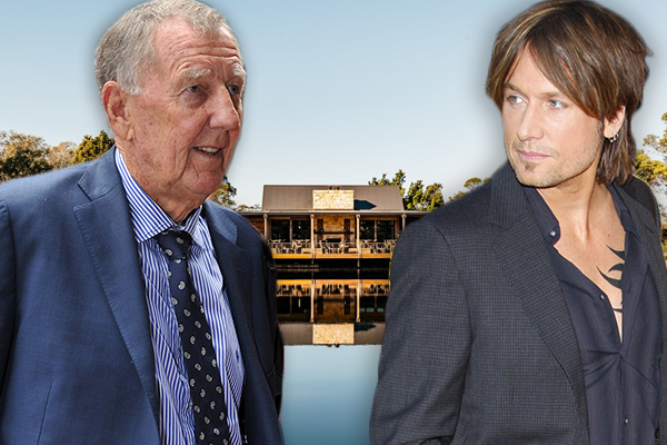 Article image for John Singleton sprays Keith Urban after Australia Day concert mix up