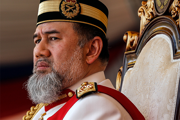 Article image for Malaysian King abdicates throne amid reports he married a Russian beauty queen