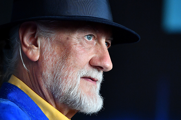 Article image for Mick Fleetwood chats about the band's new singer ahead of Aussie tour