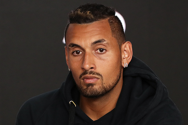 Nick Kyrgios responds to claims of a rift with Lleyton Hewitt