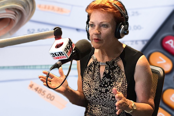Pauline Hanson's plan to help small businesses