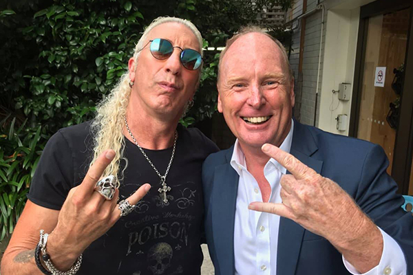 Article image for 'A piece of garbage': Twisted Sister frontman slams Clive Palmer for using his song