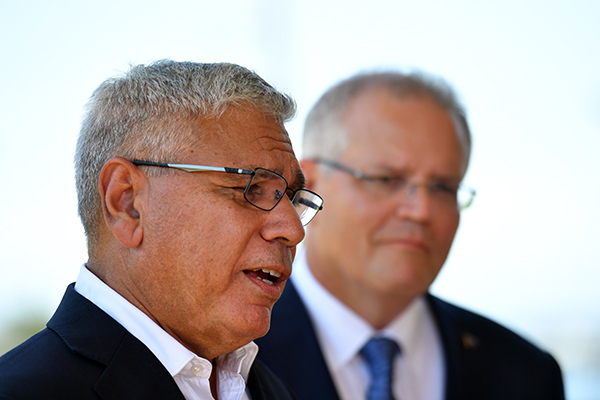 Warren Mundine admits he was talked into entering politics by Prime Minister