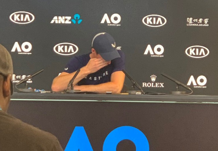 Article image for Murray breaks down in pre-tournament press conference