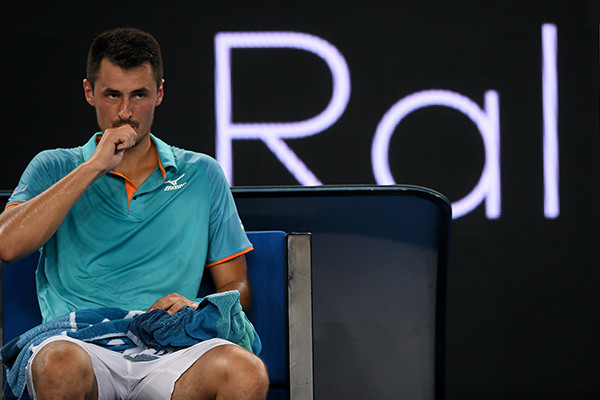 Article image for Bernard Tomic launches bizarre rant against Lleyton Hewitt
