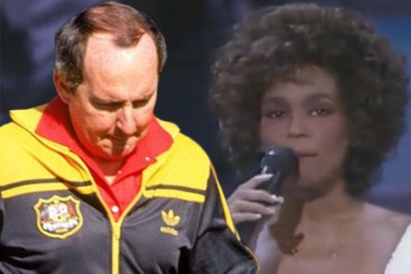 Article image for How Alan Jones used Whitney Houston to coach his teams