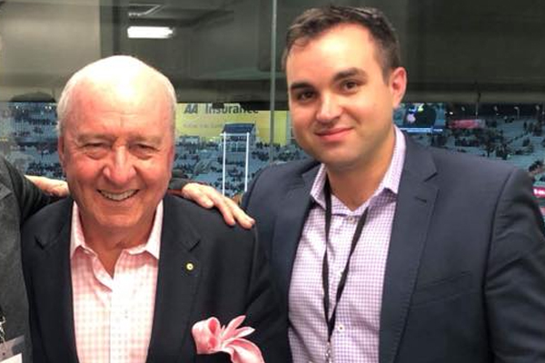 'I'm highly embarrassed': The hilarious reason Alan's sports reporter missed his cross