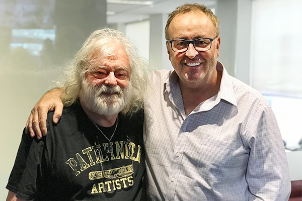 Article image for Brian Cadd produced his new album in three days, but there was ONE important condition