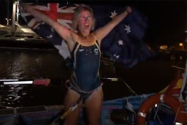 Article image for We all like a challenge but what this Aussie woman has just completed is 'absurd'