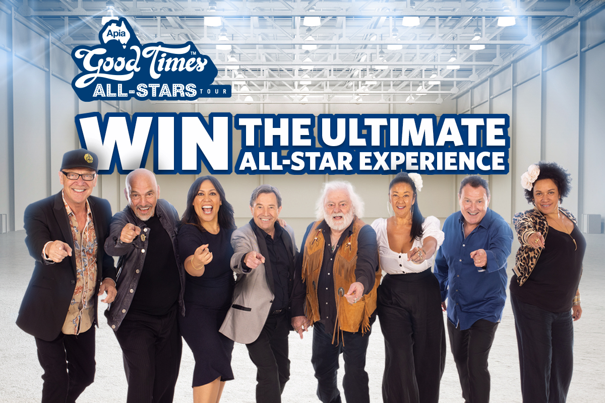 Win the ultimate APIA Good Times Tour all-star experience!