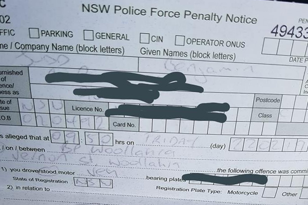 Article image for Man receives bizarre fine from police while buying a pie at the servo