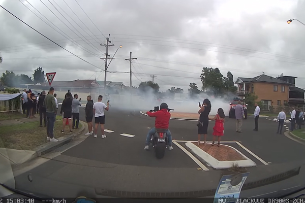 Article image for 'Strange way to celebrate a wedding': Police to investigate burnout party