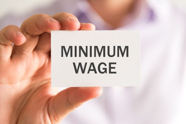 The call for a substantial increase to the minimum wage