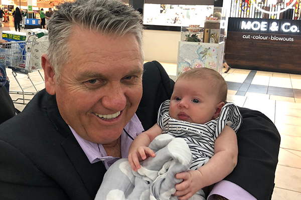 Ray spends an afternoon with granddaughter Ava