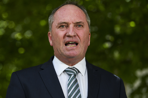 Barnaby Joyce demands new coal-fired power station