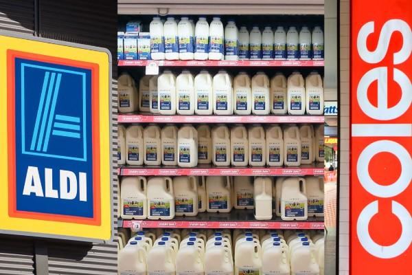 Coles and Aldi finally end $1-a-litre milk