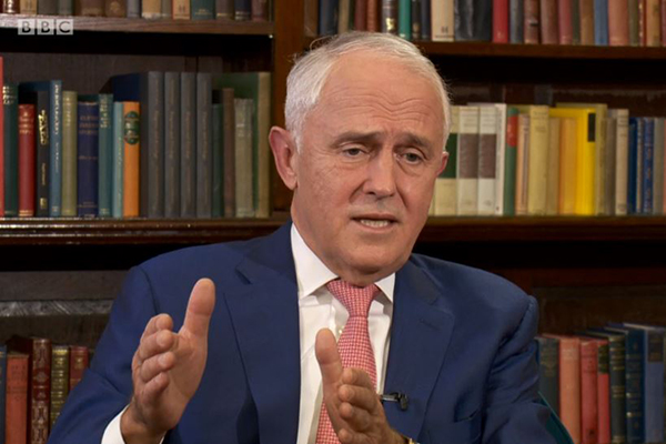Article image for 'He needs medication': Malcolm Turnbull's outlandish claims on UK TV