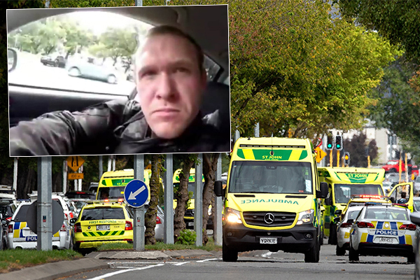 Article image for At least 50 dead after terror attack on New Zealand mosques