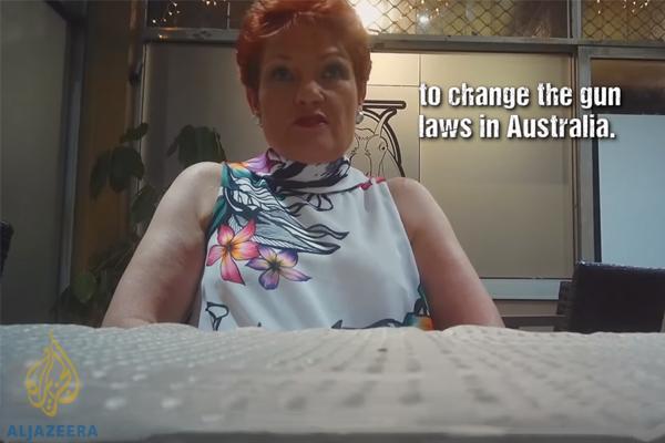 Article image for 'It's disturbing': Pauline Hanson implicated by Part II of Al Jazeera sting