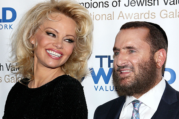 Keeping the lust alive: Pamela Anderson and an American Rabbi join forces on sex