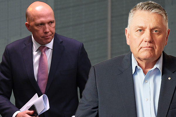 Article image for Peter Dutton and Ray Hadley clash over coal
