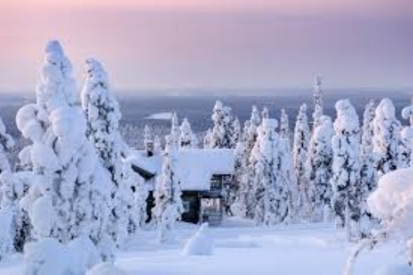 Why not enjoy christmas with Santa in Lapland