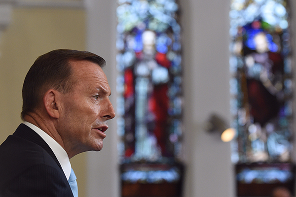 'I have no recall': Tony Abbott doesn't remember if George Pell asked him for a reference