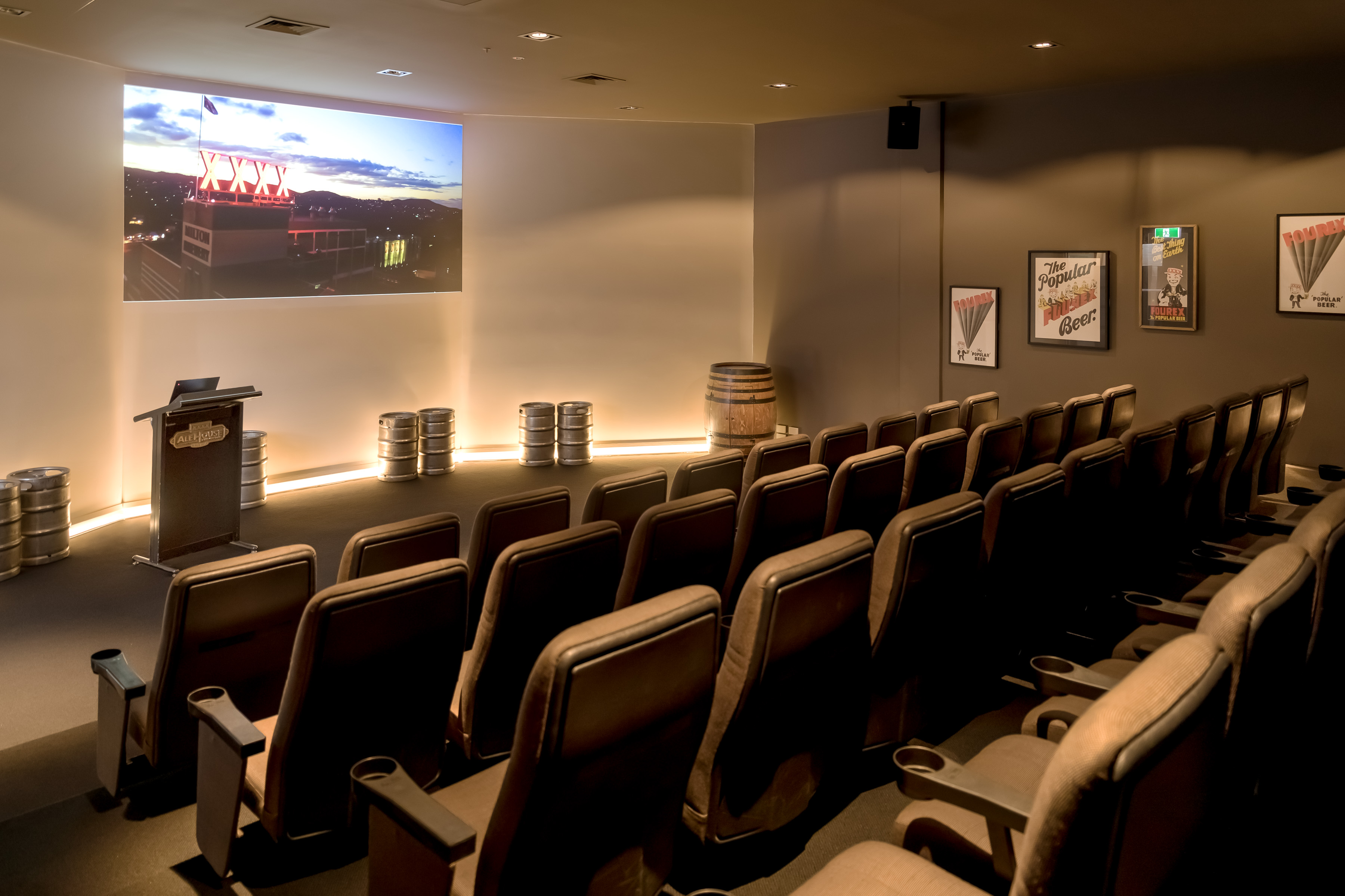 XXXX Brewery Cinema Image