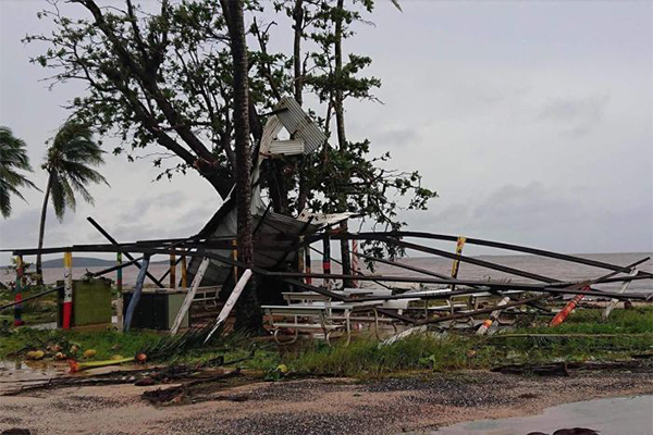 Cruel twist as Far North QLD flood victims hit by Cyclone Trevor