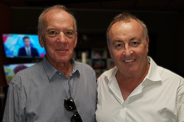 Chris Smith and Ray Martin pay tribute to TV 'legend' Mike Willesee