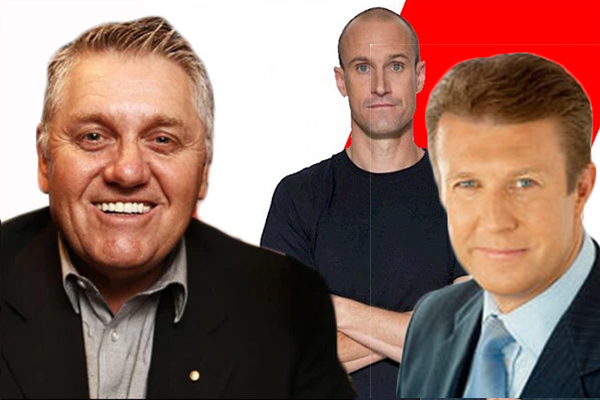 Peter Overton and Fitzy give Ray Hadley a lesson on MAFS