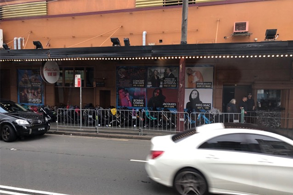Article image for Taxi rank of prams lined up outside Wiggles concert