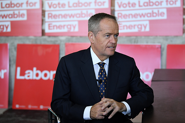 Bill Shorten to announce Labor's climate change policy
