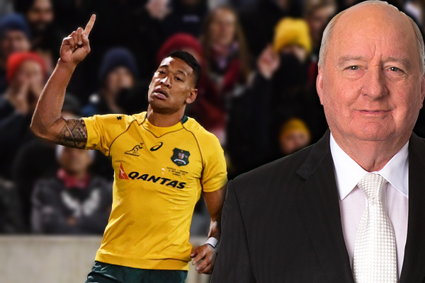 Alan Jones condemns Rugby Australia over Israel Folau sacking… here's why