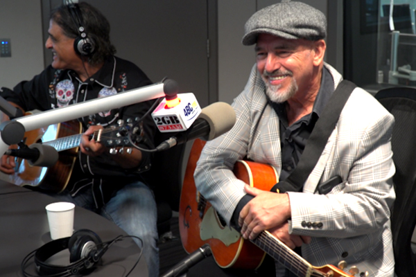 The Black Sorrows' Joe Camilleri performs in-studio