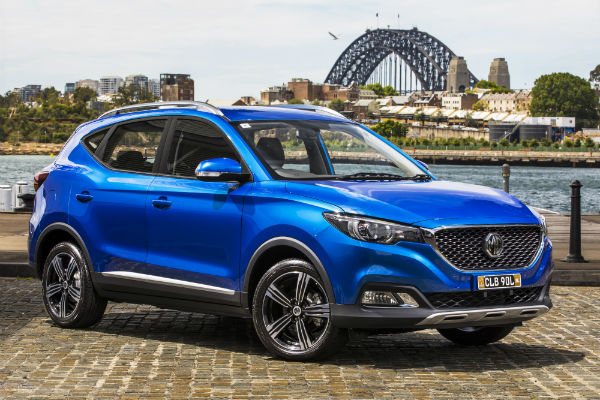 MG, the fastest growing automotive brand in the first quarter