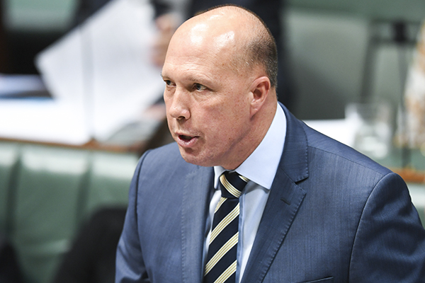 Peter Dutton says Bill Shorten has questions to answer over Chinese billionaire