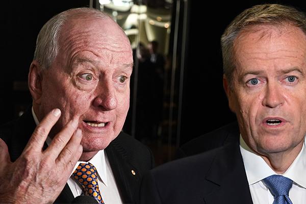 'Cancer scam': Alan Jones slams Bill Shorten's 'ludicrous' cancer policy